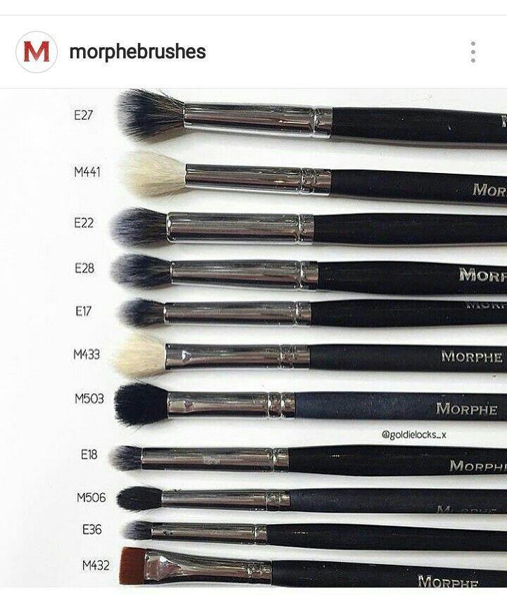 Some more Morphe eye brushes