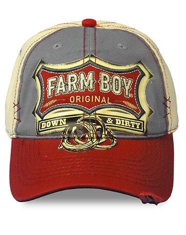Farm Boy Co-op & Feed Co., LLC - Infant/Toddler/Boys Farm Boy Down & Dirty Twill Cap