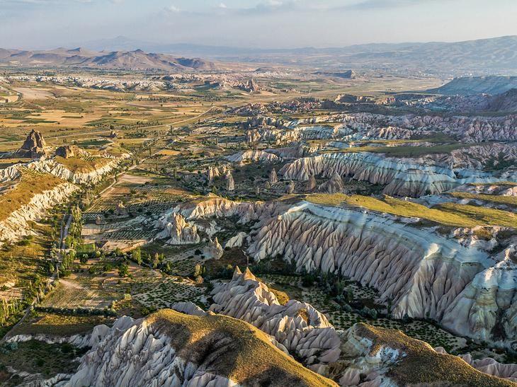 Древний регион Каппадокия, Турция
