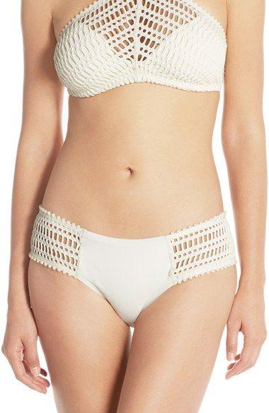 Robin Piccone 'Sophia' Crochet Bikini Bottoms