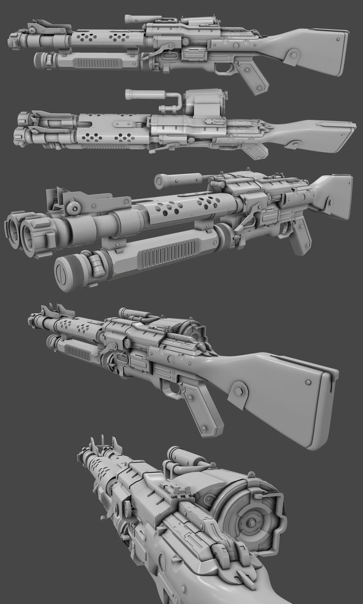 ArtStation - Wolfenstein The new Blood fan art Shotgun wip ...