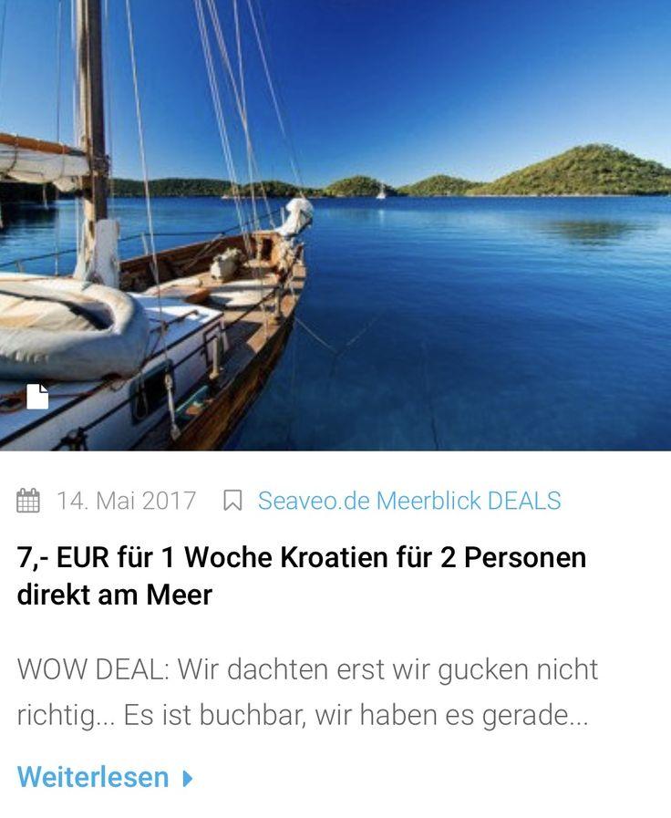 WOW DEAL: 7,- EUR für 1 Woche Kroatien für 2 Personen direkt am Meer!!! Wir dachten erst wir gucken nicht richtig... Es ist buchbar, wir haben es gerade ausprobiert ...  #deals #deal #kroatien #urlaub #urlaubsreif #urlaubsfeeling #urlaub2017 #meer #meerweh #meerblick #reisefieber #reisen #traveldeals #travelgram #reiseblogger #seaveo #fernweh  #reise #lastminute #schnäppchen #sale #sales #ammeer #beautifuldestinations #ferienwohnung #ferienhaus #kurzurlaub #strandurlaub #familienurlaub…