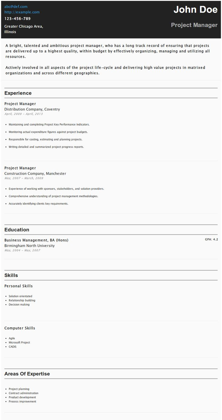 40 best HipCv Resume Examples images on Pinterest | Author, Madness ...