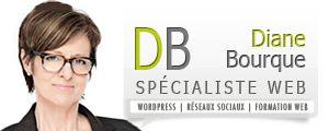 Diane Bourque - Spécialiste WordPress, Réseaux Sociaux, Formation Web