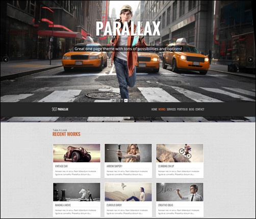 29 best Supreme Parallax Web Design images on Pinterest | Website ...