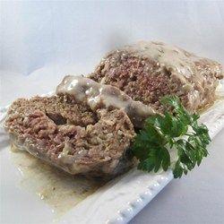 Mushroom in the Middle Meatloaf - Allrecipes.com