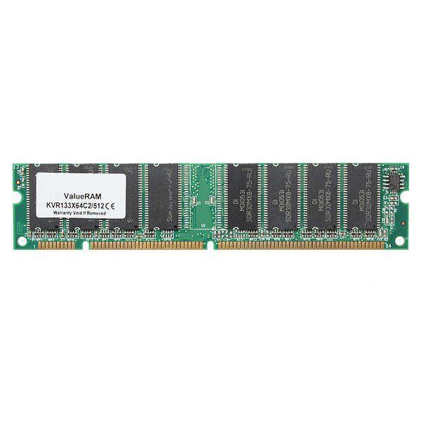 512MB PC133 SDRAM PC DIMM NON-ECC NON-REG 168 Pin Desktop Memory Ram