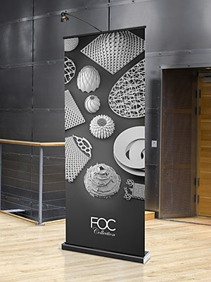 Expand M2 (EM2) retractable/roll up banner stand display