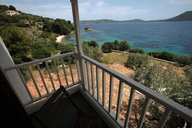 Nice view from a Casa Kalypso Suite / Allonissos