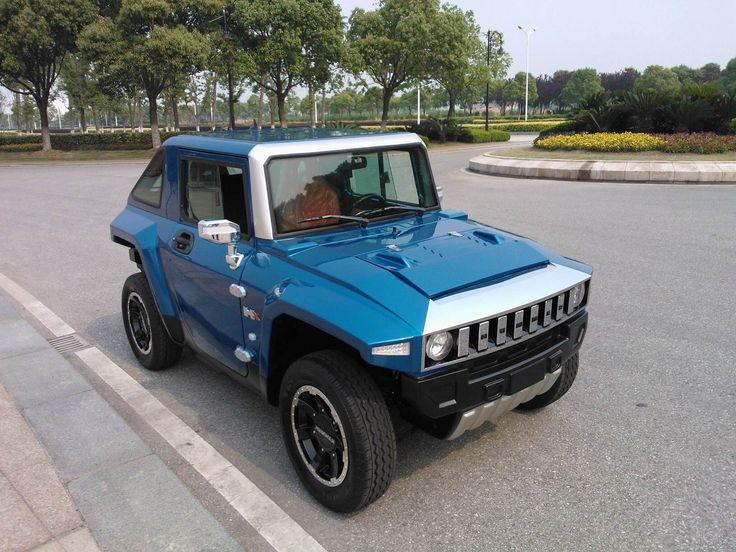 MEV HUMMER HX Metallic Blue, Orane Seats in Shanghai, China