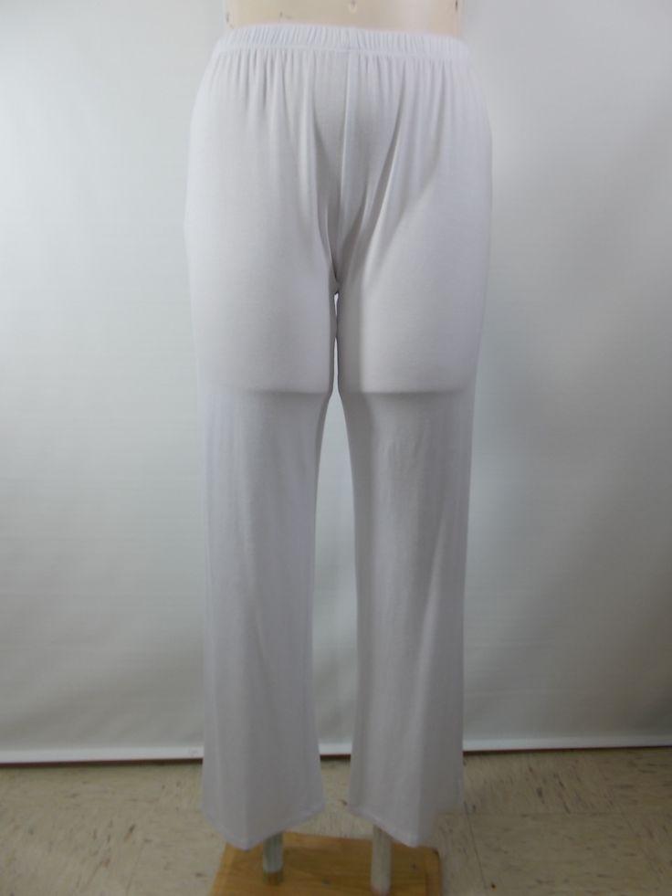 Comfy USA - Modal White Narrow Pant