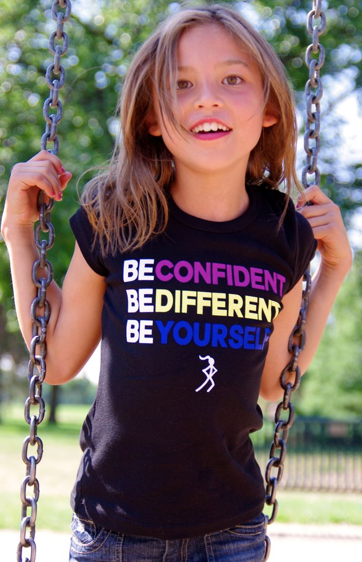 Confidence Tee for girlies, Keira's Kollection is an awesome line of tees aimed at building confident, strong, inspired girls & women!