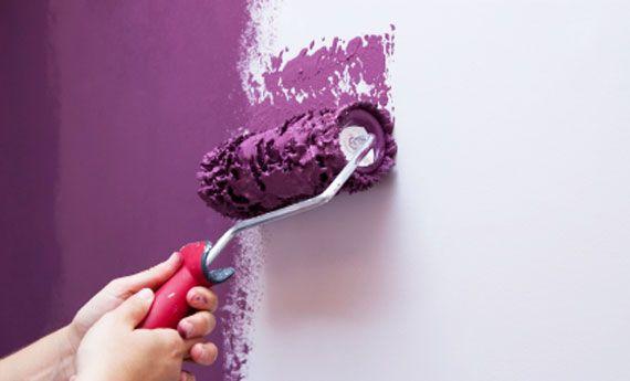 Come dipingere una parete: tutti i consigli per non sbagliare! | Artiste per casa