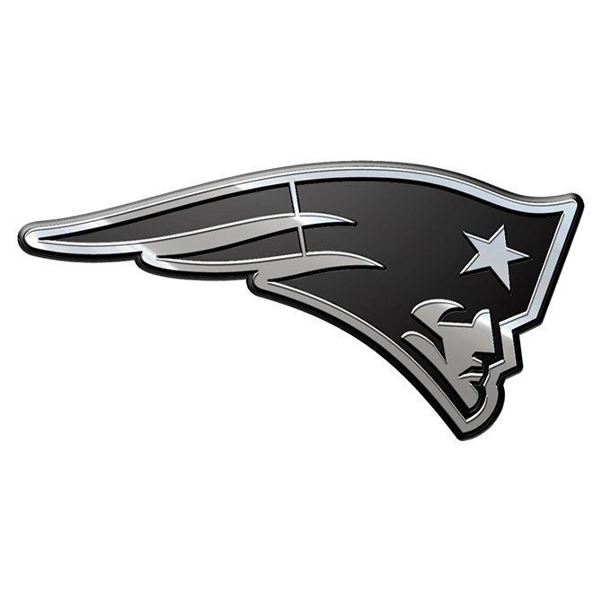New England Patriots Auto Emblem - Premium Metal