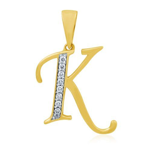 Style No.:Alphabetical Pendant PPD-00904 Diamond Weight:0.08 Ct Price  : 8475.00  NO OF STONE-8 SHAPE -ROUND COLOR-FG CLARITY- SI CERTIFICATE - IGI GOLD WEIGHT -1.9gm GOLD PURITY - 14kt GROSS WEIGHT - 01.91gm Chain not included
