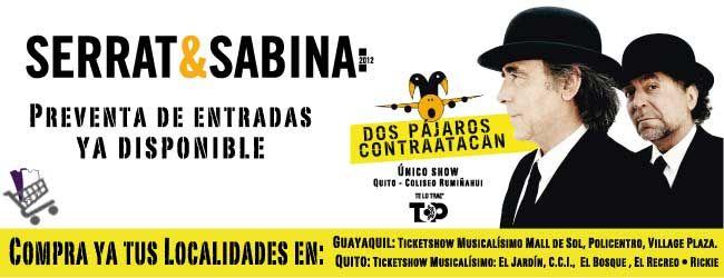 Serrat y Sabina 2012
