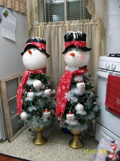 More snowman trees - not a good link, but you get the idea :)