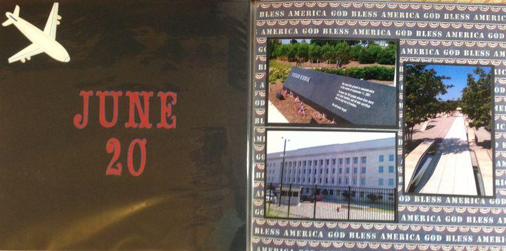 Scrapbook: Washington DC 2012: Pentagon 9/11 Memorial