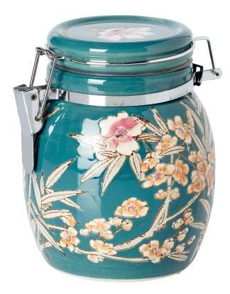 VINTAGE tea jar dark green | Other | Ceramic/glass | Glass and Porcelain | Interior | INDISKA Shop Online