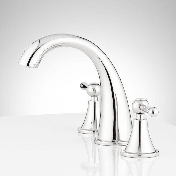 Falmouth Widespread Bathroom Faucet - Polished Chrome - Side