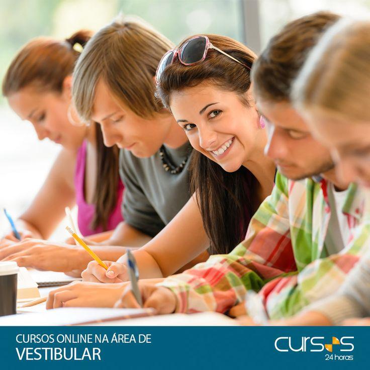Vestibular-Cursos Online na Área de Vestibular-Os cursos abaixo não são totalmente focados em preparação para Vestibulares. No entanto, são cursos selecionados por nossa equipe que abordam conteúdos exigidos em vestibulares de todo o Brasil. Todos eles contam com tutoria especializada para tirar dúvidas, bem como Certificado entregue em Casa, ao final.