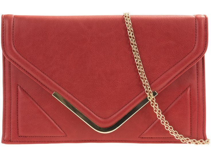 """If Santa had an envelope clutch bag...this would be the one for him! Look out for """"Rouge"""" on www.borsetta.london xx Hols xx"""