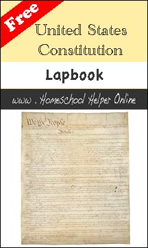 Free Constitution Lapbook (w/link)
