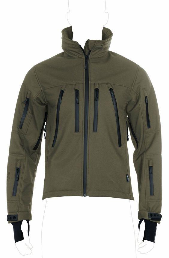 UF PRO® Delta Eagle Olive Softshell Jacke: