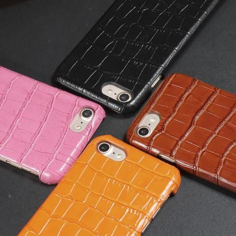 Real Genuine Leather Case For iPhone