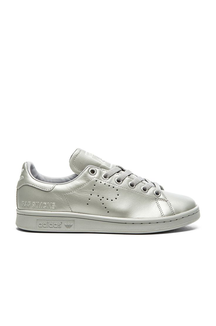 adidas by Raf Simons Stan Smith Sneaker en Argent