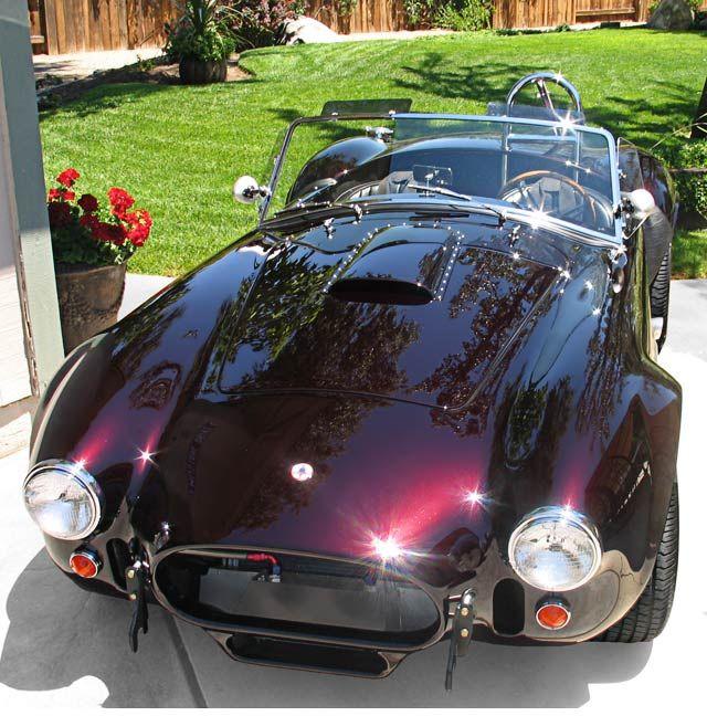 Black Paint Colors: Shelby Cobra CSX4273, 427SC Cobra Black Cherry Finish, For