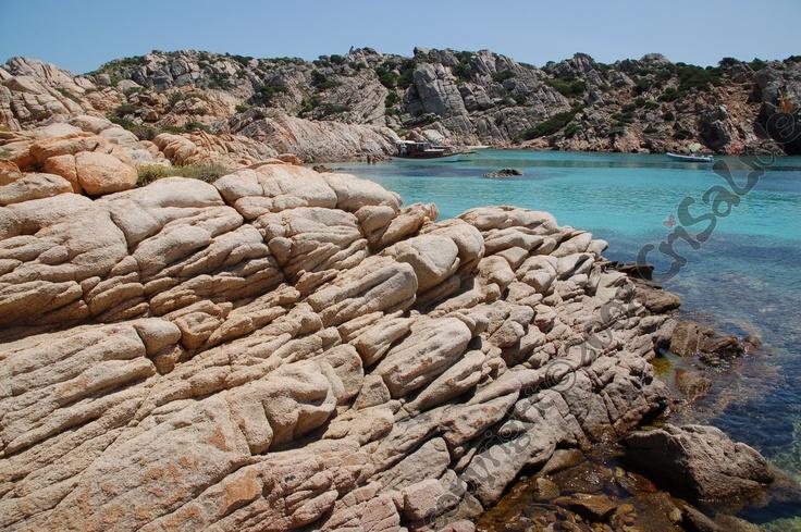 Cala napoletana, isola di Caprera, Arcipelago della Maddalena