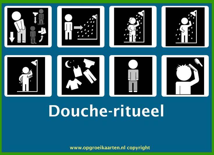 dagritmekaart jezelf wassen 2 - gratisbeloningskaart.nl