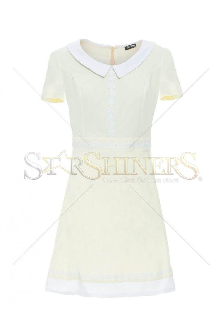 Artista Pupil Allure Yellow Dress