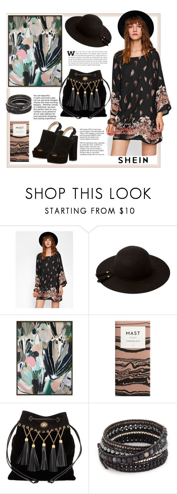 """Shein"" by natalyapril1976 on Polyvore featuring Mode, Miu Miu, Chan Luu, Paul Andrew und Tiffany & Co."