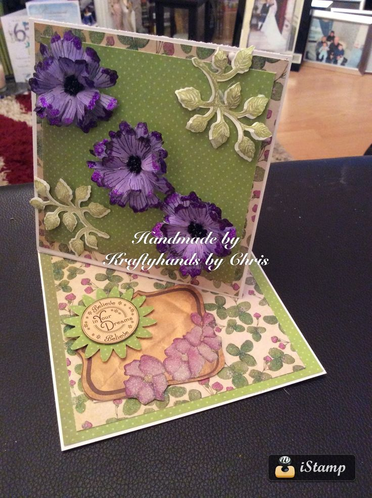 Kraftycards by Chris: Twisted easel card