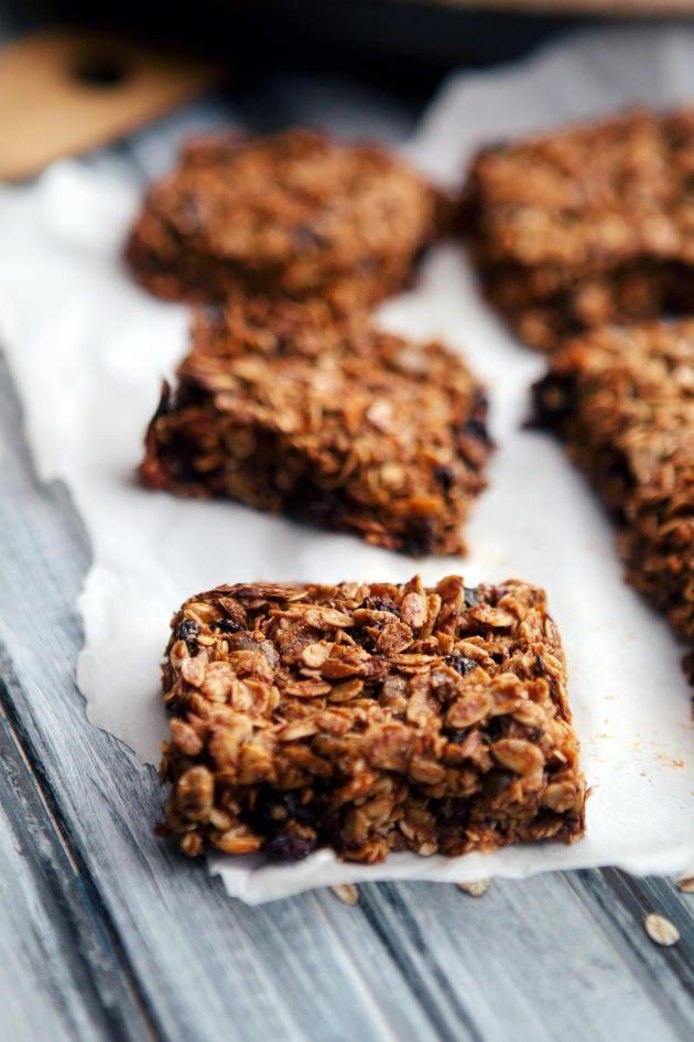 how to make healthy homemade granola bars