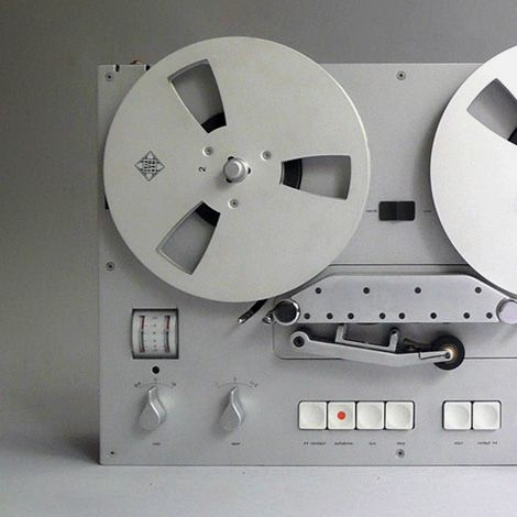 Braun TG60 reel to reel Tape Recorder, Design by Dieter Rams, 1965