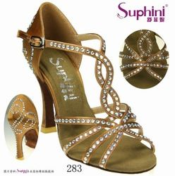 Women Rhinestone Straps Dance Shoes - Buy Hot Crystal Women Dance Shoes,Cheap Latin Dance Shoes,Satin Dance Sandal Product on Alibaba.com