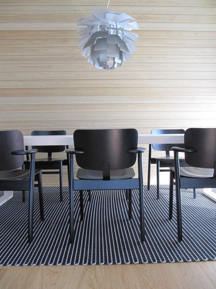 Encore3 rug in beautiful dining area