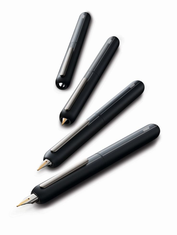 Retractable fountain pen by Lamy. Cool, but maybe a Vanishing Point is a better choice considering this one is 300$ U.S.