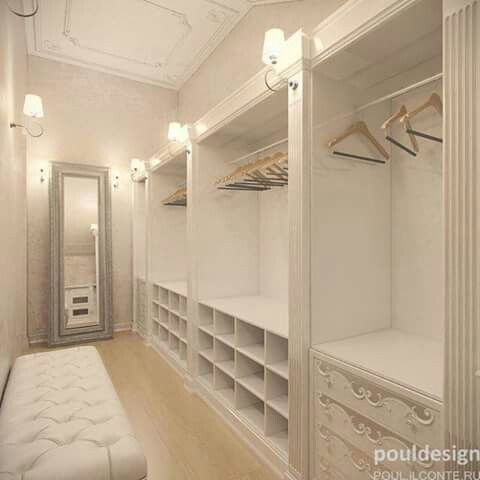 A whole lot of wonderful - walk in closets