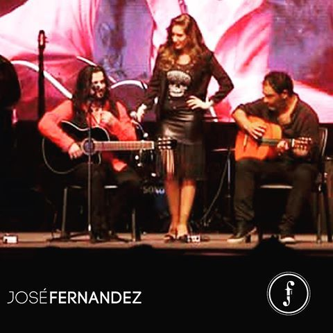 "A great night to remember with the flamenco singer & Pianist ""Maria Toledo"" with the famous Guitarist ""Juan Jose Suarez Paquete"" 🎼  #Josefernandez #Jose #Music #Band #Beirut #artist #GypsyMusic #guitarist #guitar #lebanon #gulf #flamenco #spanish"