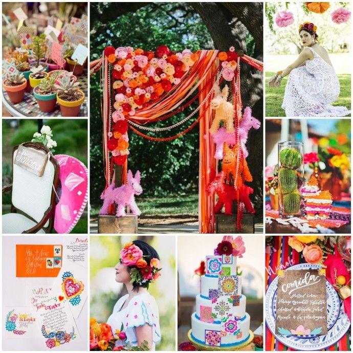 Faire vivre son mariage mexicain au rythme d'une fiesta multicolore ? Facile !