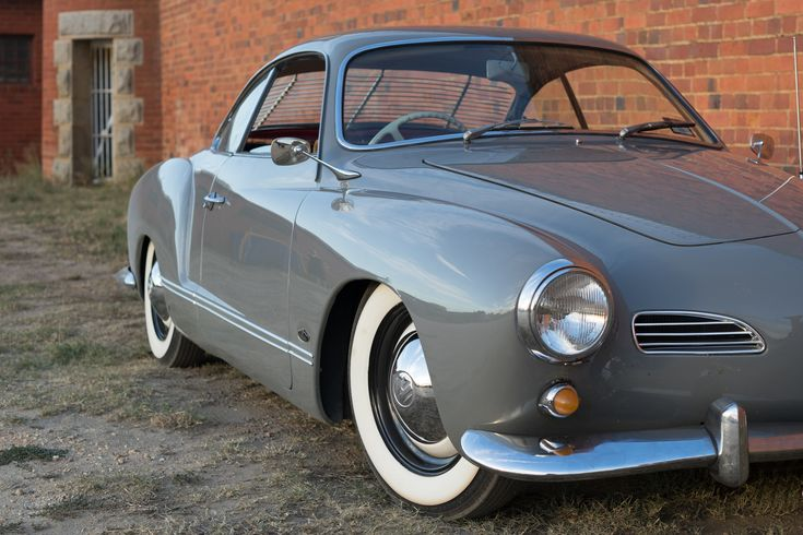 My 1960 Karmann Ghia. This car rolled out of the Osnabrueck factory in Germany on the 29th of July 1960. It was shipped to the Carpenter dealership in Fiji. It then somehow ended up in Australia and was bought by my father in 1978. She was off the road for about 20 years and was restored by me and is back on the road as of last year.