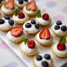Fresh Fruit Tartlets Weight Watchers recipe