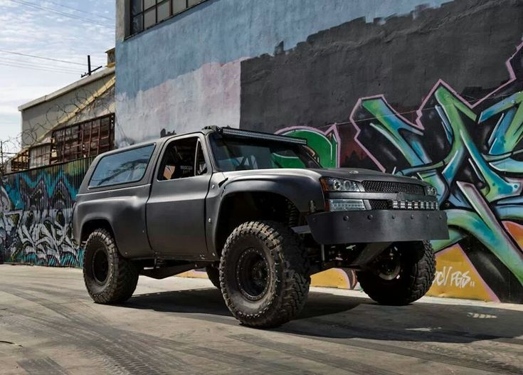 1979 K5 Blazer with Colorado front-end | Cars, trucks, mud ...