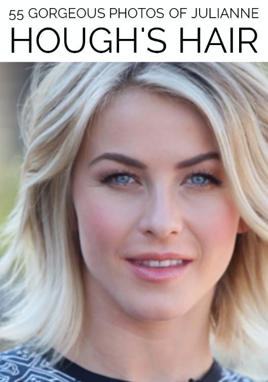 Gorgeous photos of Julianne Hough's hairstyles through the years.