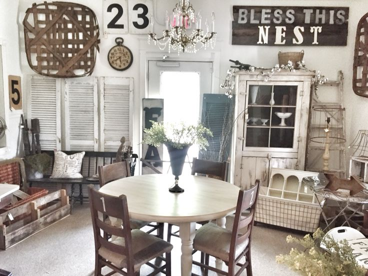 Farmhouse Decorating Ideas Pinterest: 1279 Best Flea Market/show Display Ideas Images On