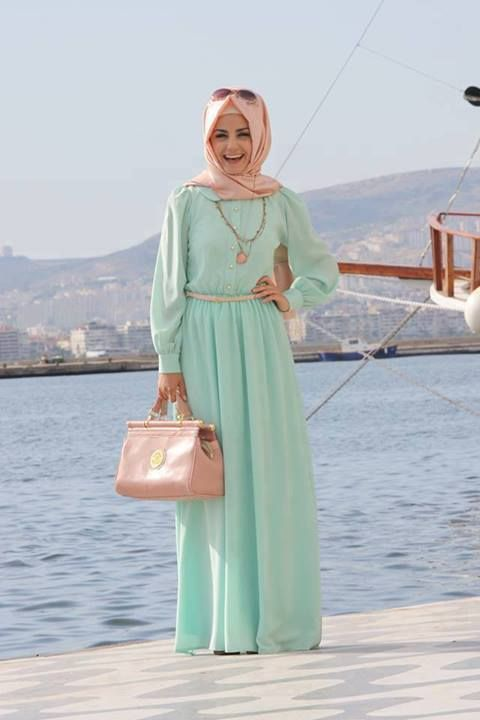 gorgeous hijab outfit !